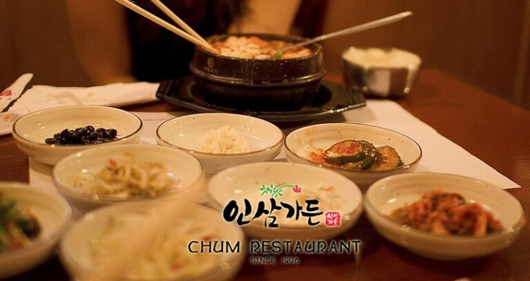 kim chi ăn kèm lẩu hải sản hàn quốc